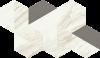 Trevi White Trapezium 31.4x18 cm