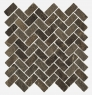 Genesis Brown Mosaico Cross 31.5x29.7 cmx10 cm