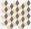 Element Mosaico Cube Warm 30.5x33 cm