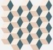 Element Mosaico Cube Cold 30.5x33 cm