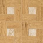 Nl-Wood Vanilla Inserto Glamour 45x45 cm