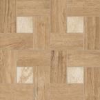 Nl-Wood Olive Inserto Glamour 45x45 cm