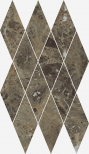 Charme Deluxe Emperador Mosaico Diamond 28x48 cm