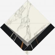 Charme Deluxe Arabescato Intarsio 56.4x56.4 cmx9 cm