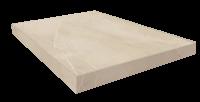 Капри Белый Ступень 45 Угловая Правая 33x45 cm