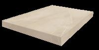 Капри Белый Ступень 45 Угловая Левая 33x45 cm