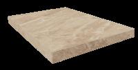 Портофино Беж Ступень 45 Угловая Правая Шлиф. 33x45 cm