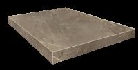 Портофино Серый Ступень 45 Угловая Правая Шлиф. 33x45 cm