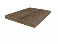 Венеция Коричневый Ступень  Угловая Правая 33x45 cm