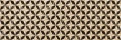Elite Dark Inserto Flyrose 25x75 cm