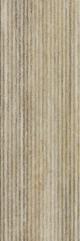 Travertino Silver Inserto Wave 25x75 cm