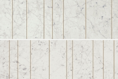 Charme Extra Carrara Inserto Golden Line 25x75 cm