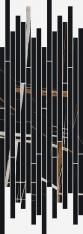 Charme Deluxe Sahara Strip 26x75 cm