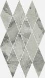 Charme Extra Silver Mosaico Diamond 28x48 cm