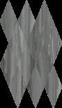 Charme Advance Palissandro Mosaico Diamond 28x48 cm