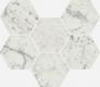 Шарм Экстра Каррара Мозаика Гексагон 25x29 cm