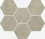 Терравива Грейдж Мозаика Гексагон 25x29 cm