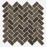 Genesis Brown Mosaico Cross 31.5x29.7 cmx10 cm