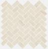 Room stone white Mosaico Cross 31.5x29.7 cmx10 cm