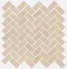 Room stone beige Mosaico Cross 31.5x29.7 cmx10 cm
