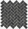 Room stone black Mosaico Cross 31.5x29.7 cmx10 cm