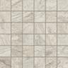 Альпы Белый Вставка мозаика 30x30 cm
