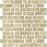 Charme Advance Travertino Mosaico Raw 30x30 cm